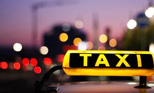 grünes taxi