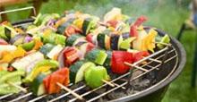 Buntes Gemüse BBQ