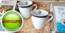 1 von 5 Kaffeesets gewinnen