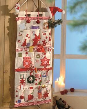 Der Adventskalender ist fertig und wunderschön © efco - creative emotions
