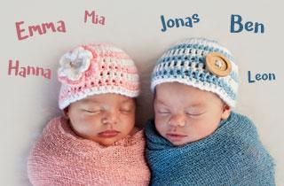 Vornamen für Mädchen und Jungen