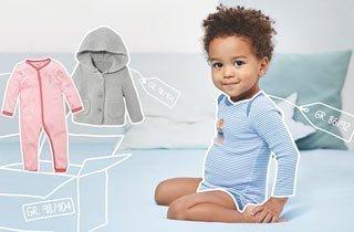 Baby- und Kinderkleidung einfach mieten