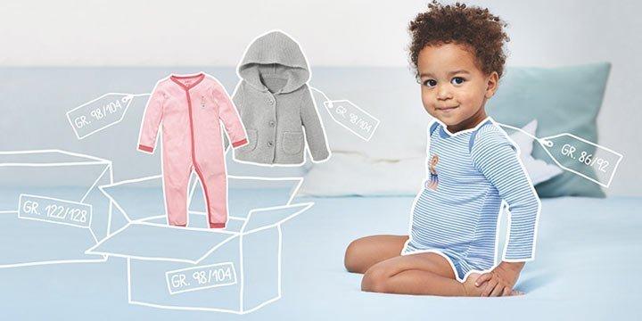 Baby- und Kinderkleidung einfach mieten statt kaufen: So geht's!