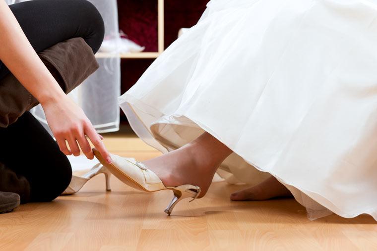 Brautschuhkauf