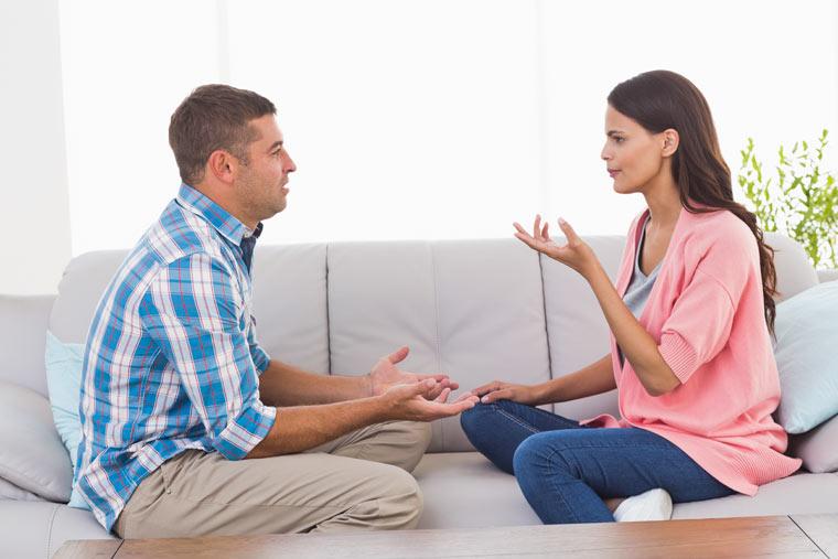 Beziehungsprobleme? Reden Sie mit Ihrem Ehemann