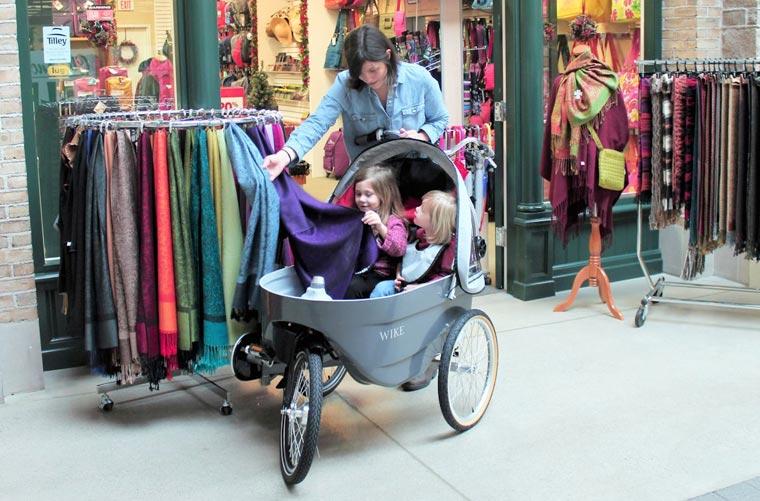 Kinderwagen Fahrrad wike Buggys die gleichzeitig auch ein Fahrrad sind