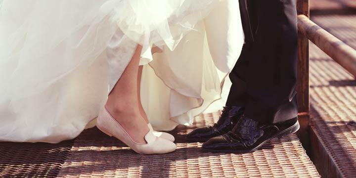 Komfortables Schuhwerk für den schönsten Tag im Leben
