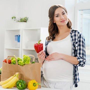 So ernährst du dich gesund in der Schwangerschaft