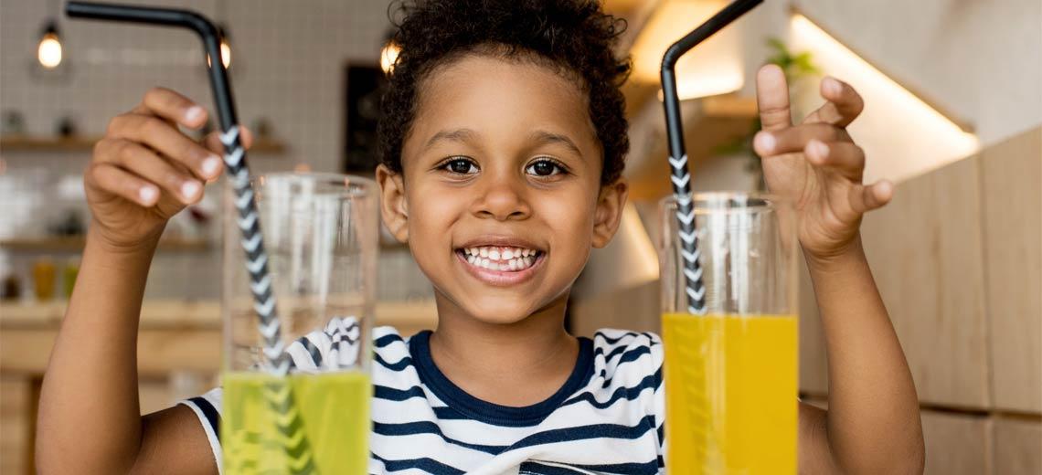 Süße Verführung - Die 10 zuckerhaltigsten Kindergetränke