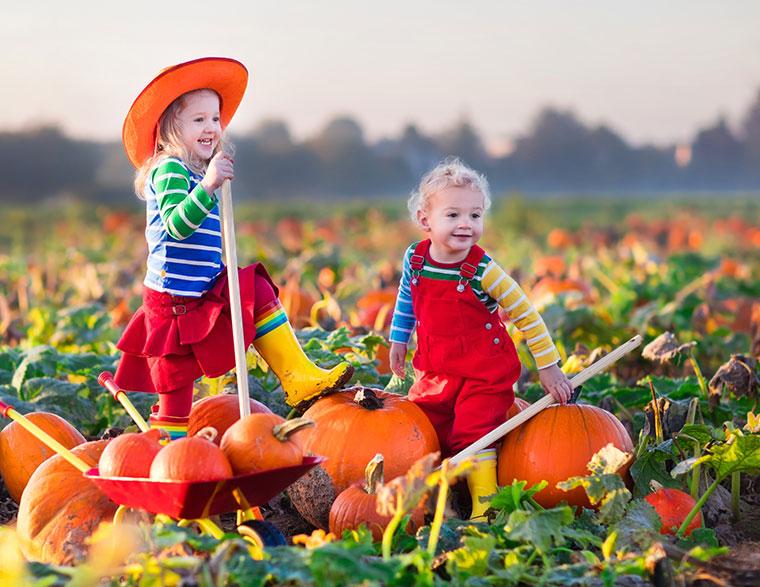 Nicht nur für Kinder ist Erntedank eine schöne Tradition.