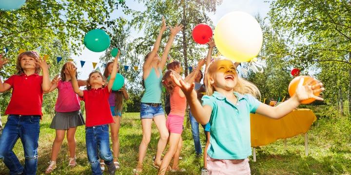 """Kindergeburtstag: Tolle Ideen für eine """"grüne"""" Party"""