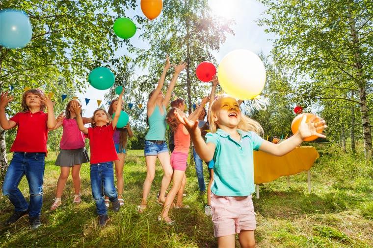 Ein Kindergeburtstag mal anders. Mit Spaß umweltfreundlich feiern.