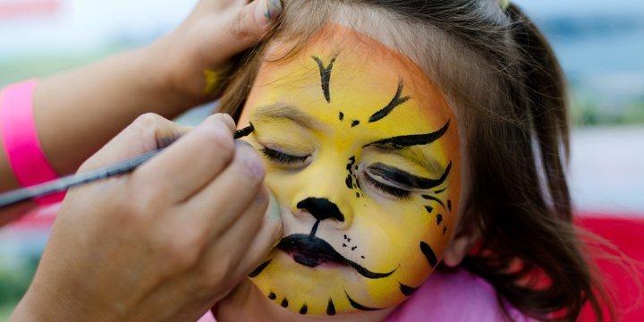 Schluss mit lustig: Kinderschminke oft giftig