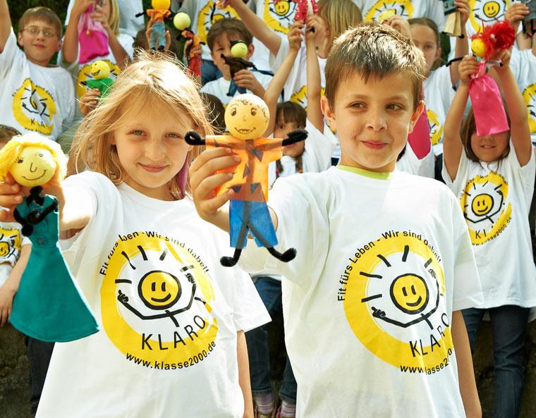Gesunder Lebensstil für Kids mit Klasse2000