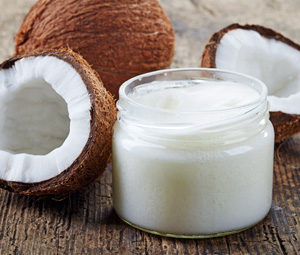 Kokosöl gegen trockene Kinderhaut
