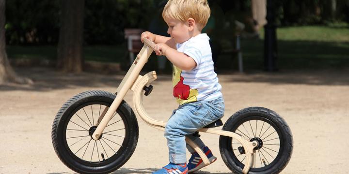 Eco Fahrspaß: Diese Kinderfahrräder wachsen mit