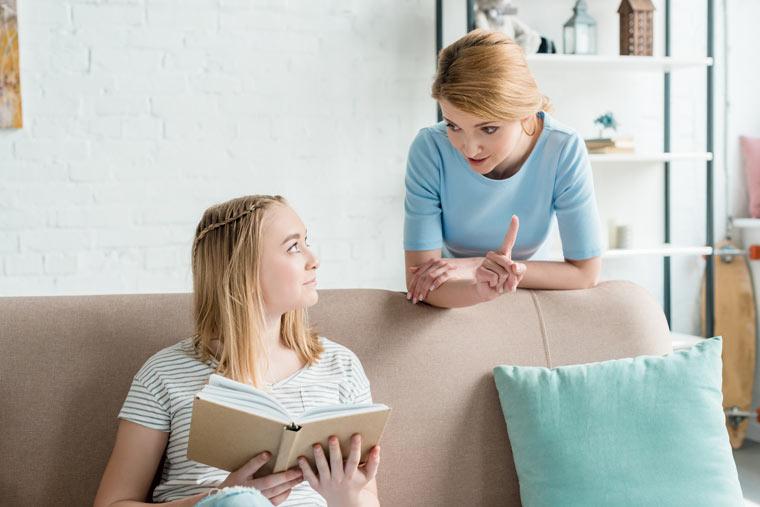Teenager möchten diskutieren und eine eigene Meinung haben