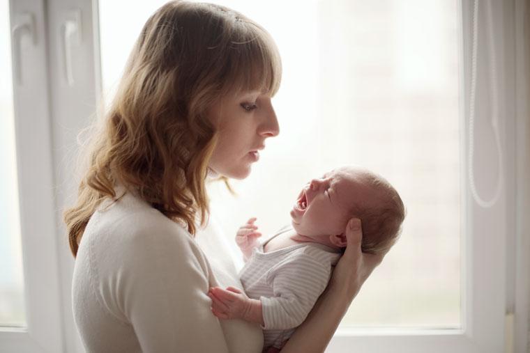 Nur durch Schreien können Babys sich mitteilen