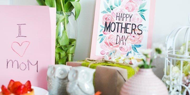 Geschenkideen zum Muttertag - darüber freut sich Mama am meisten