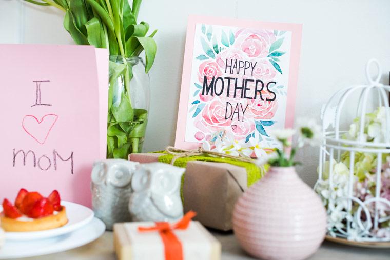Geschenke zum Muttertag - einfach mal Danke sagen am Muttertag