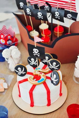 Geburtstag nach dem Piraten-Motto