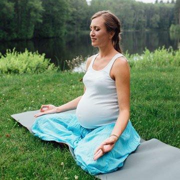 Meditationsübungen für Schwangerschaft und Geburt