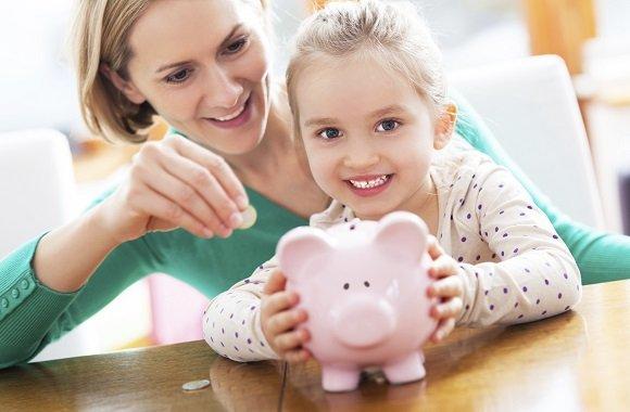 Kindern lernen den eigenständigen, verantwortungsvollen Umgang mit Geld