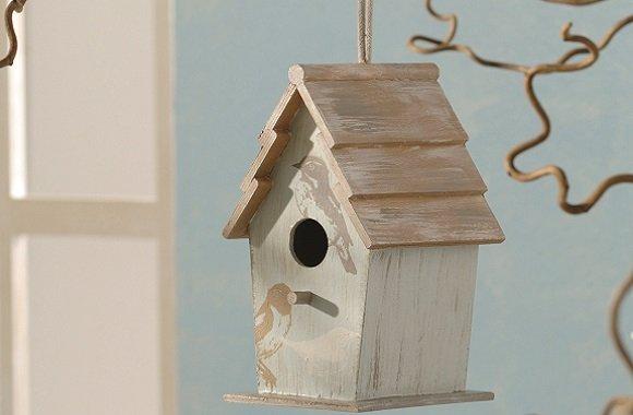 Vogelhaus für den Winter selbst gestalten