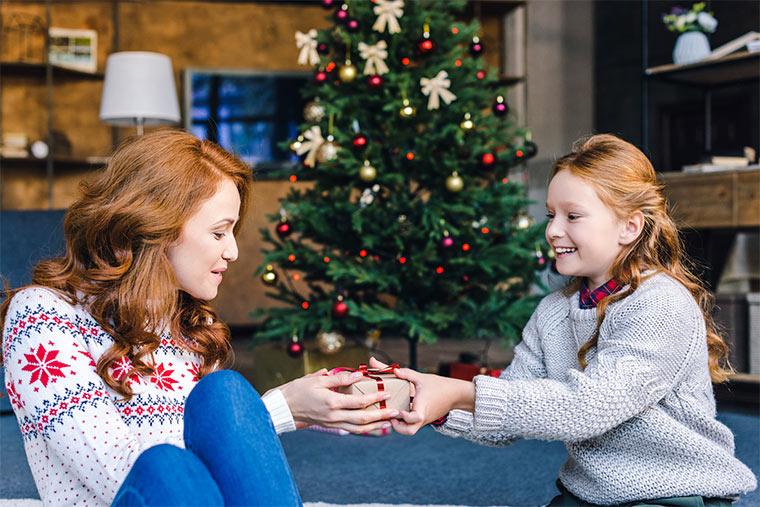 Weihnachtsgeschenk für Mutti