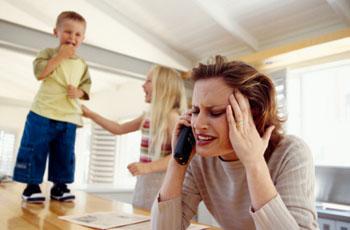 Kinder können anstrengend sein. Alleinerziehend ist es doppelt schwer ©Goodshoot