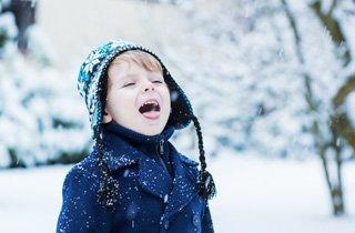 Kinderhaut im Winter natürlich pflegen