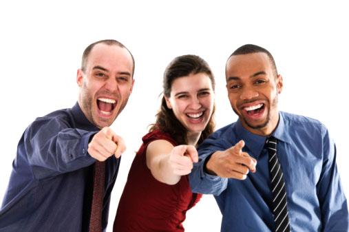 Ausgelacht! Durch die Kraft der Gruppe ist jeder klein zu kriegen ©iStockphoto