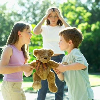 Das Horror-Szenario: Der Streit unter Kindern ©Stockbyte