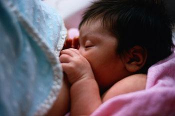 Das Stillen ist nicht nur gesund für das Baby ©Photodisc