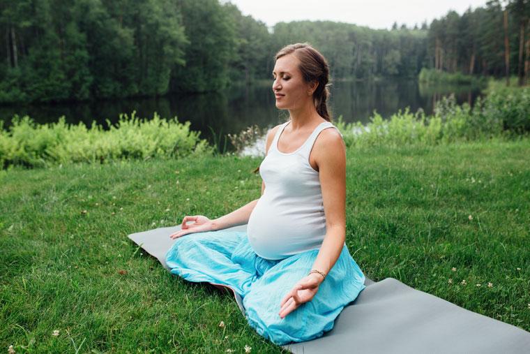 Gelassen in der Schwangerschaft und während der Geburt