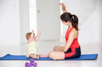 Fit mit Sport: Und das Kleine will natürlich auch ©iStockphotos
