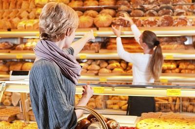 Alltägliche Kommunikation in der Bäckerei