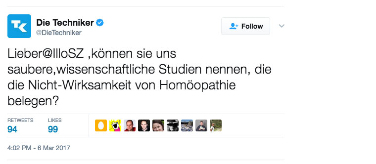 »Homöopathie ist Bullshit!« - Ist Homöopathie sinnvoll?