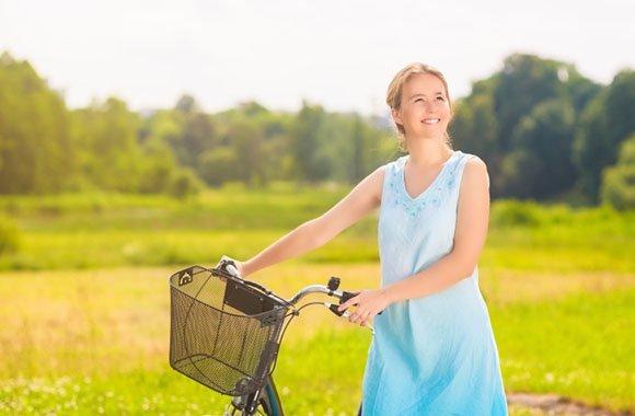 Carsharing & E-Bike: Janine Steeger ist autofrei unterwegs für die Umwelt