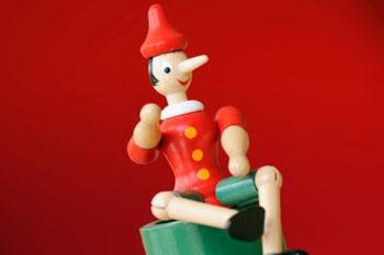 Pinocchio war wahrlich kein Meister der Lüge ©iStockphoto