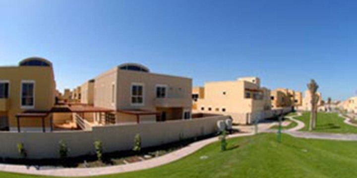 Sonnenenergiesiedlung in Abu Dhabi