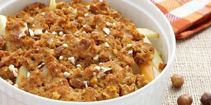Vegetarischer Genuss: Rezept für Gemüse-Tofu Auflauf mit Kohlrabi, Pastinake & Haselnüssen