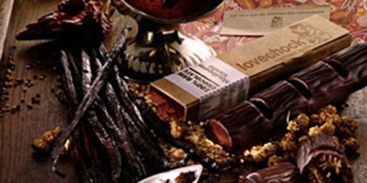 Lovechock: Bio-Schokolade mit natürlichen Liebesstoffen