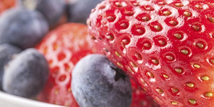 Fruchtige Kosmetik aus Erdbeeren