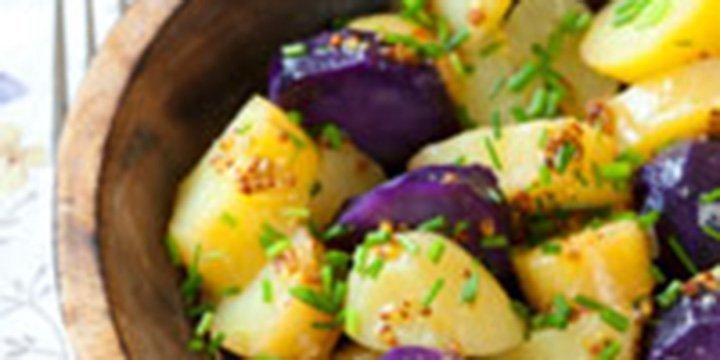 Leichter Genuss: Kartoffelsalat mit grünem Spargel
