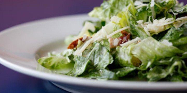 Leichte, basische Küche: Caesar Salad