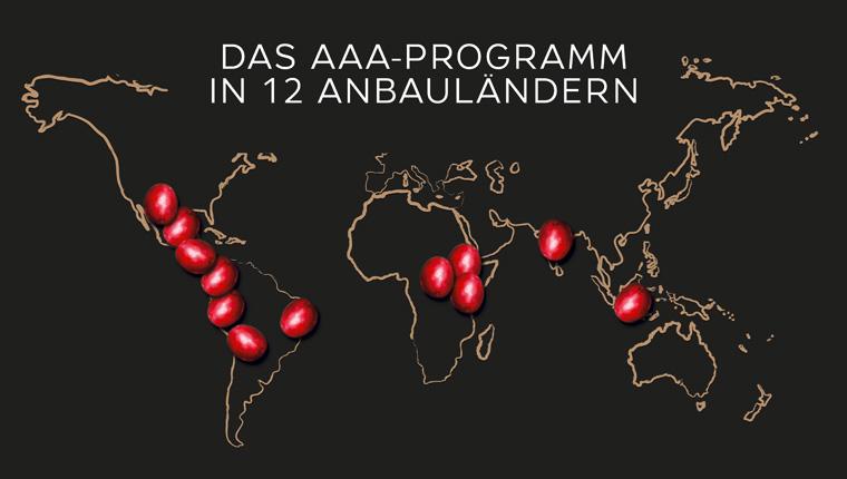 AAA-Programm in 12 Anbauländern