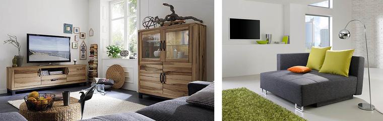 Gemütliche Wohlfühlatmosphäre mit natürlichen Möbeln