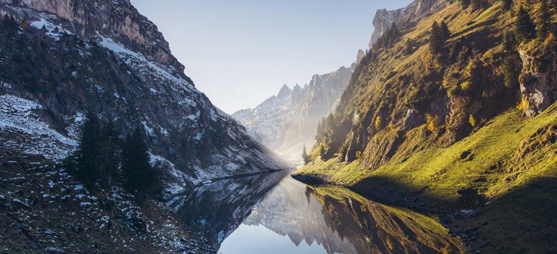 Fälensee in der Schweiz - Eine Fotografie von Camilla De Boni