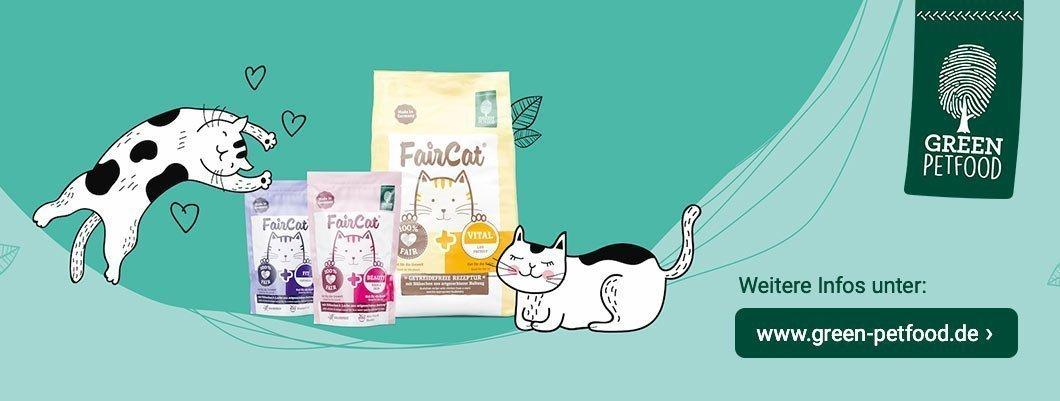 FairCat Katzenfutter von Green Petfood